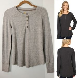 Carhartt Meadow Waffle Henley for Womens